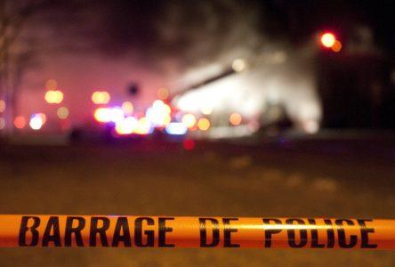 Accident grave à Saint-Bernard-de-Lacolle