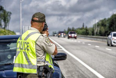 Des conducteurs interceptés pour  excès de vitesse