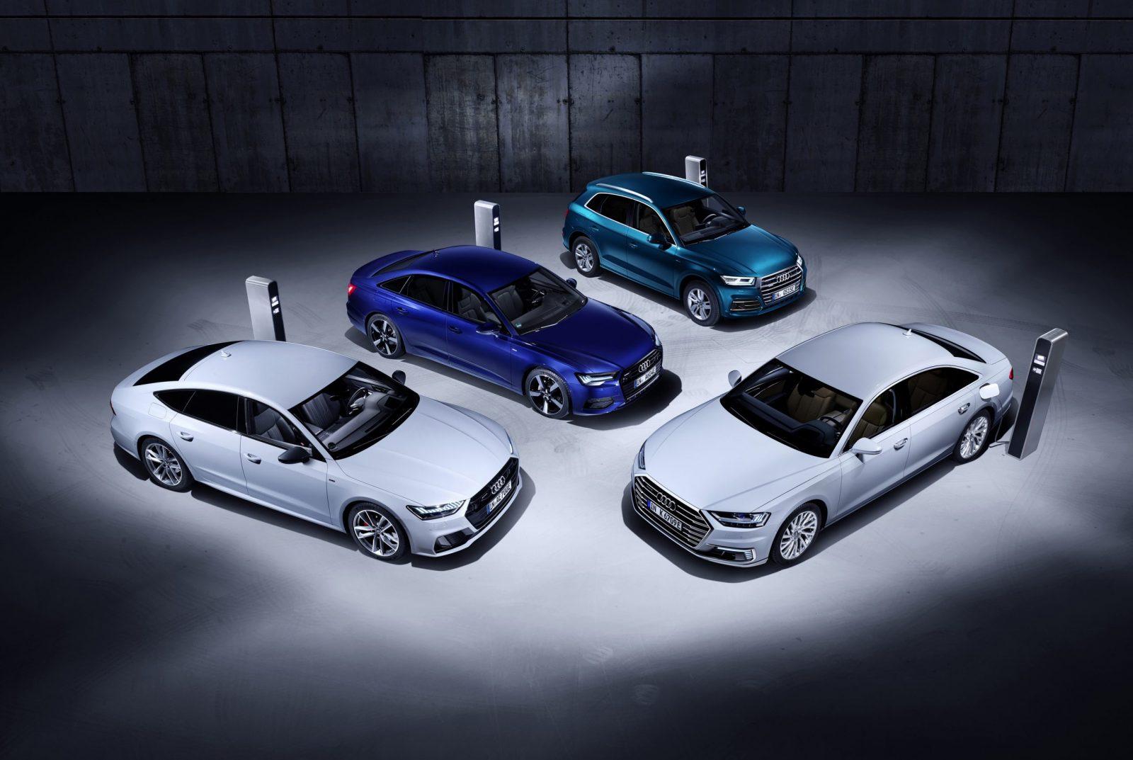Audi prépare trois nouveaux modèles hybrides rechargeables