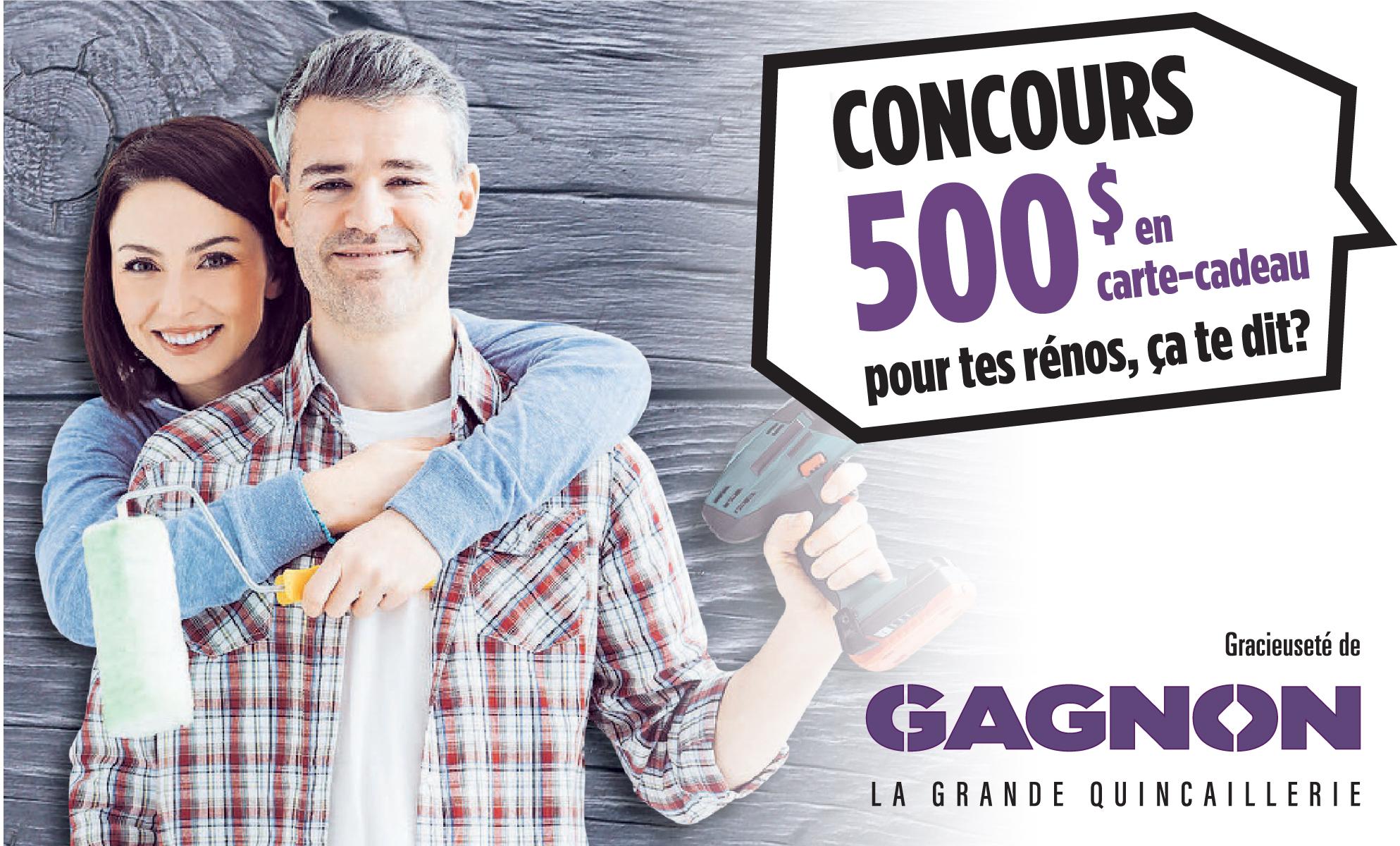 concours Le Canada Français - GAGNON