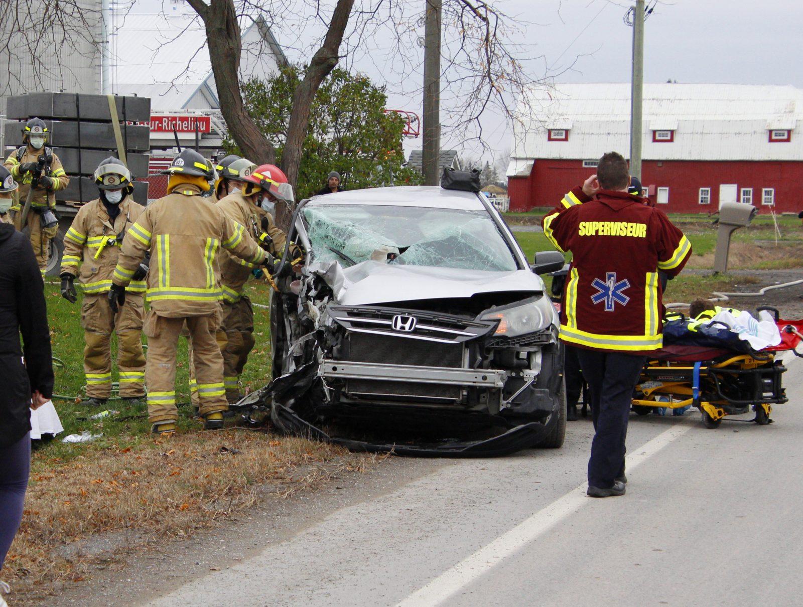 Deux blessées dans un accident sur la 133