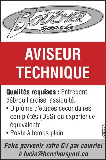 Logo de AVISEUR TECHNIQUE