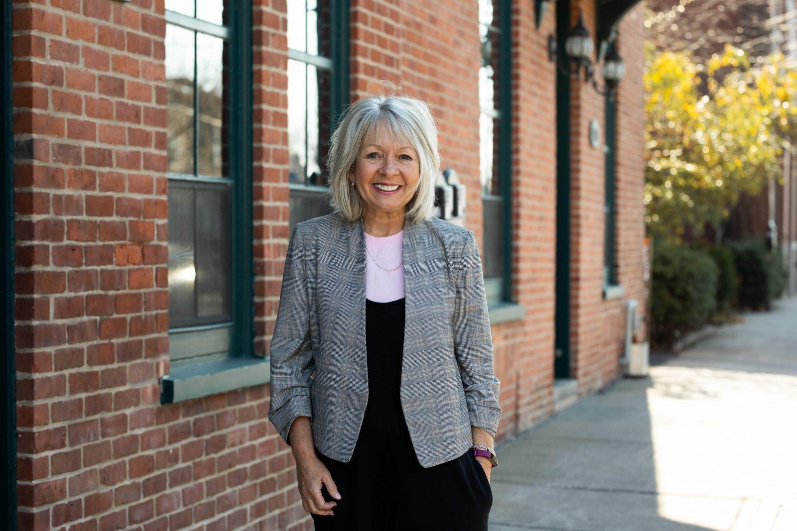 Andrée Bouchard briguera la mairie avec une équipe