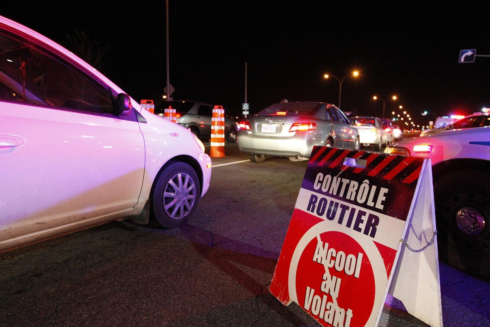 Opération policière concertée contre l'alcool et la drogue au volant dès vendredi