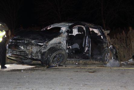 Un blessé grave dans une collision sur la 35