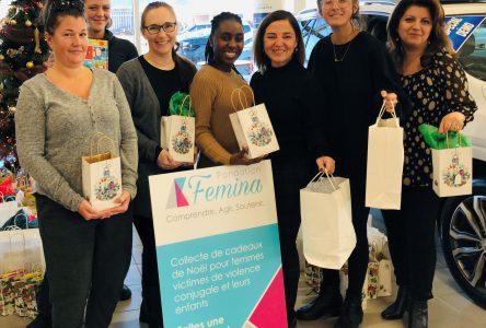 Une collecte de cadeaux pour les femmes de la Maison Hina