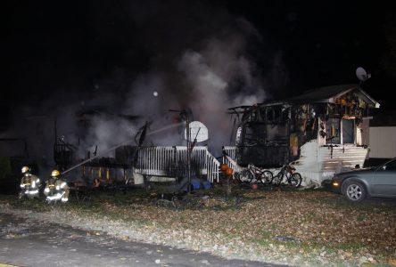 Incendie mortel à Saint-Cyprien-de-Napierville