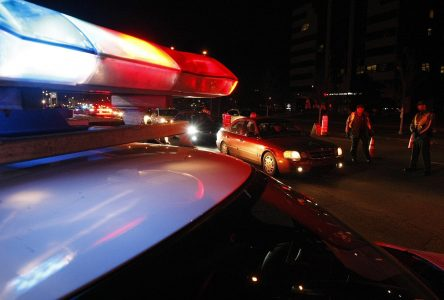 Grande excès de vitesse à St-Cyprien-de-Napierville