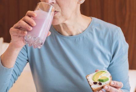 La bonne nutrition pour les personnes âgées