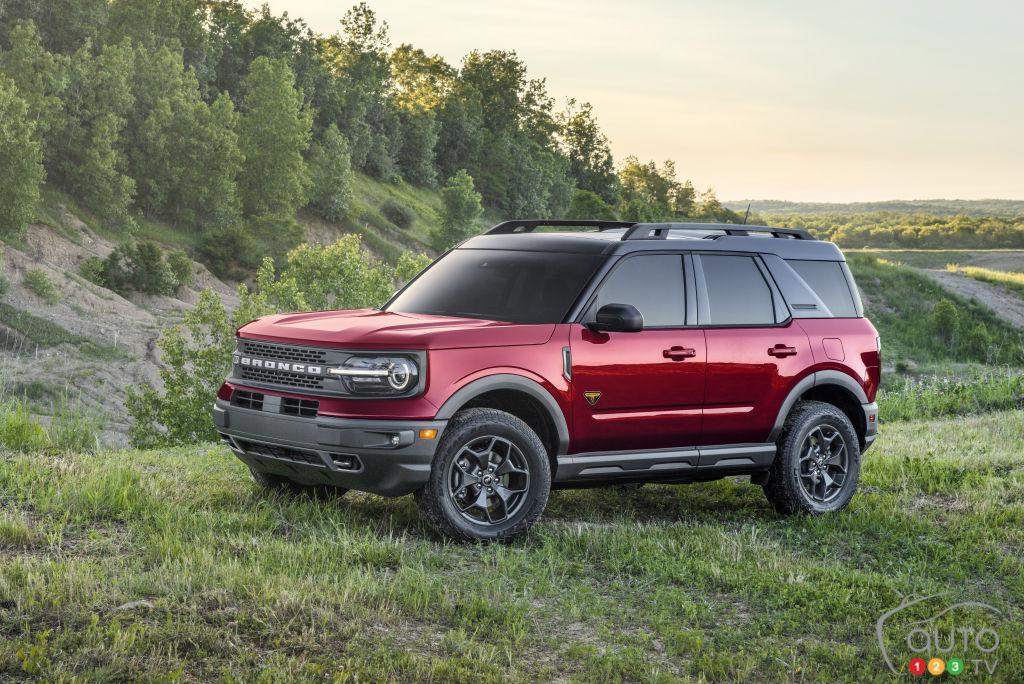 Un premier rappel pour le Ford Bronco Sport