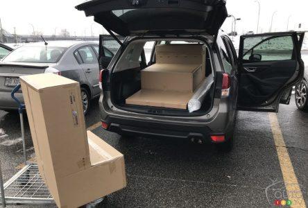 Essai à long terme du Subaru Forester 2021, partie 3 : Les mensurations d'une cargaison