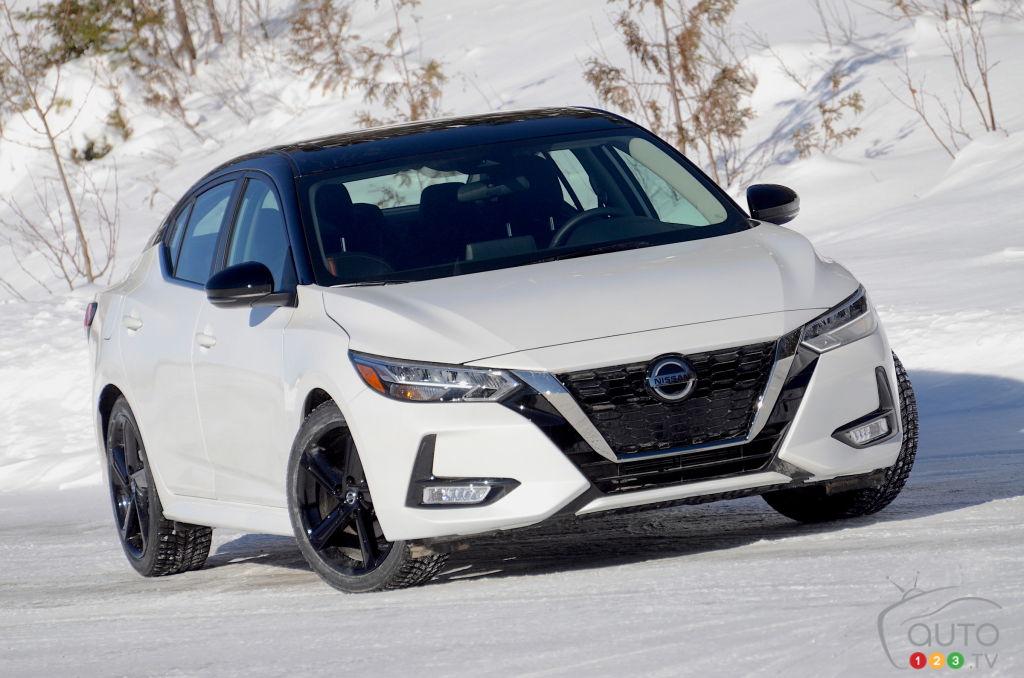 Essai de la Nissan Sentra SR manuelle 2021 : un pas dans la bonne direction