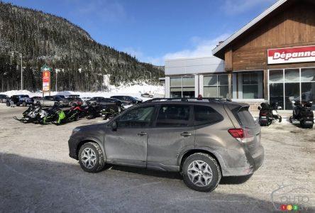 Essai à long terme du Subaru Forester 2021, partie 4 : Le test du Saguenay