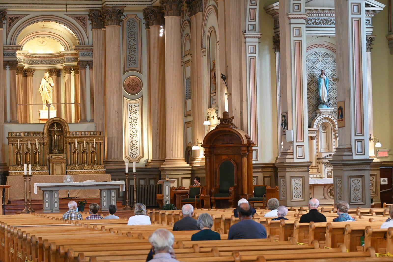 Plusieurs célébrations pendant la Semaine sainte