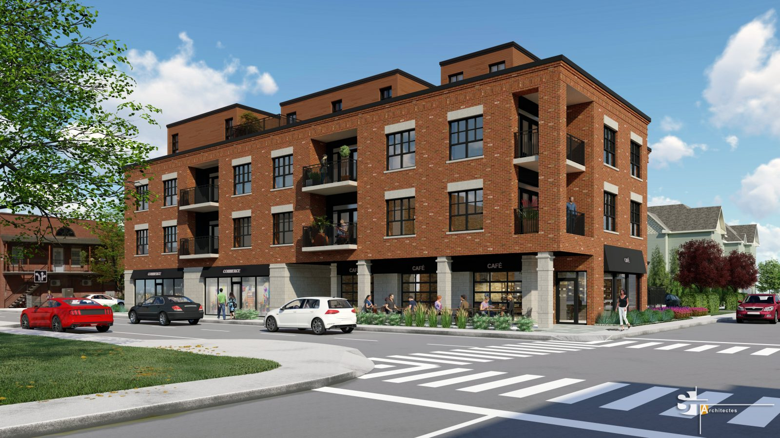 Un projet de 4 M$ en construction dans le Vieux-Iberville