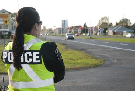L'imprudence au volant dans la mire des policiers