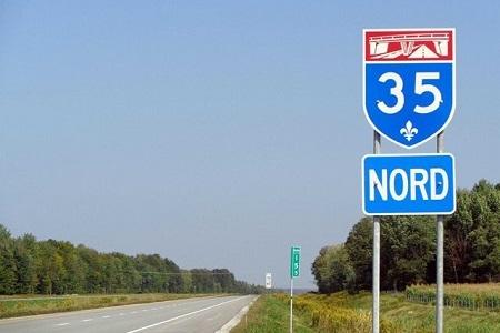Prolongement de la 35: fermeture temporaire d'un tronçon de la route 202