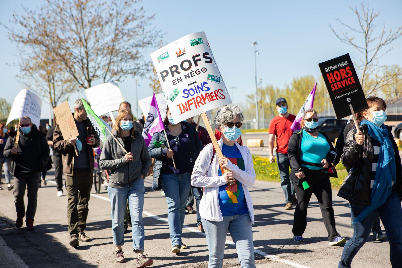 Grève des enseignants au Cégep vendredi