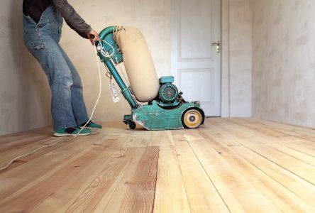 Les avantages du sablage de plancher