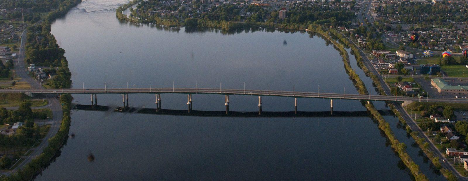 Entrave à la circulation sur le pont Marchand