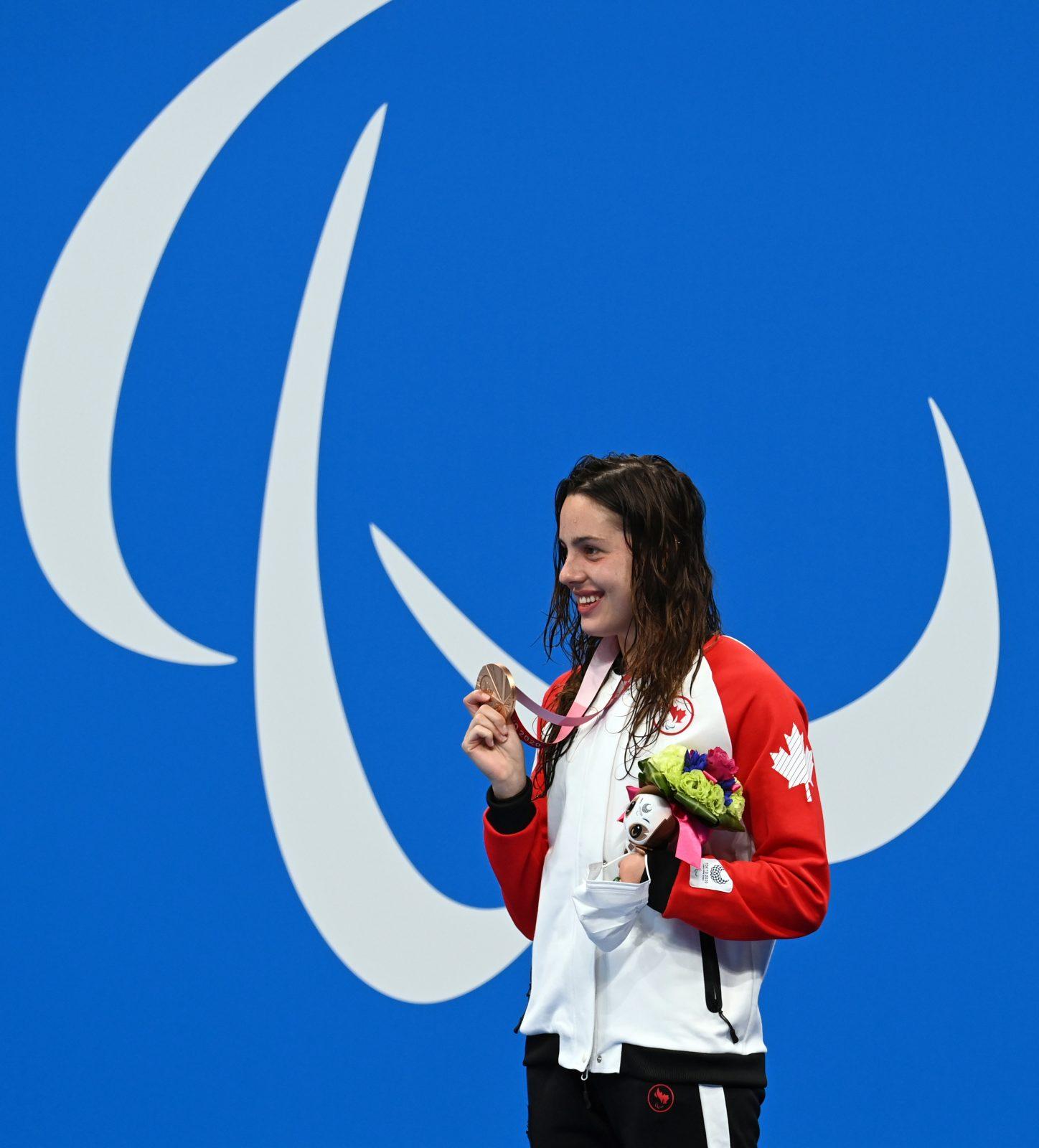 Une première médaille pour Aurélie Rivard