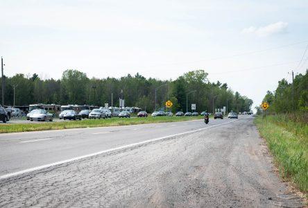 Québec annonce l'élargissement de la route 104