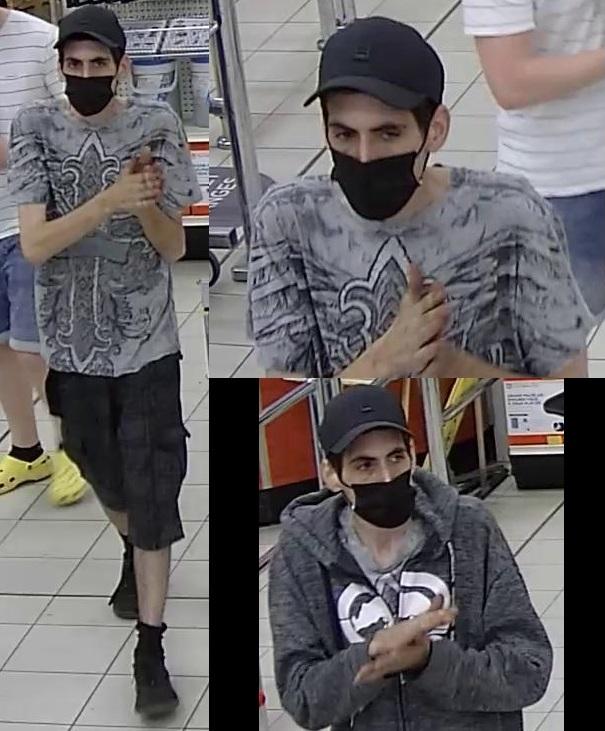 Vol à l'étalage: un suspect identifié