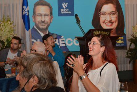 Les militants du Bloc rassemblés dans le Vieux-Saint-Jean