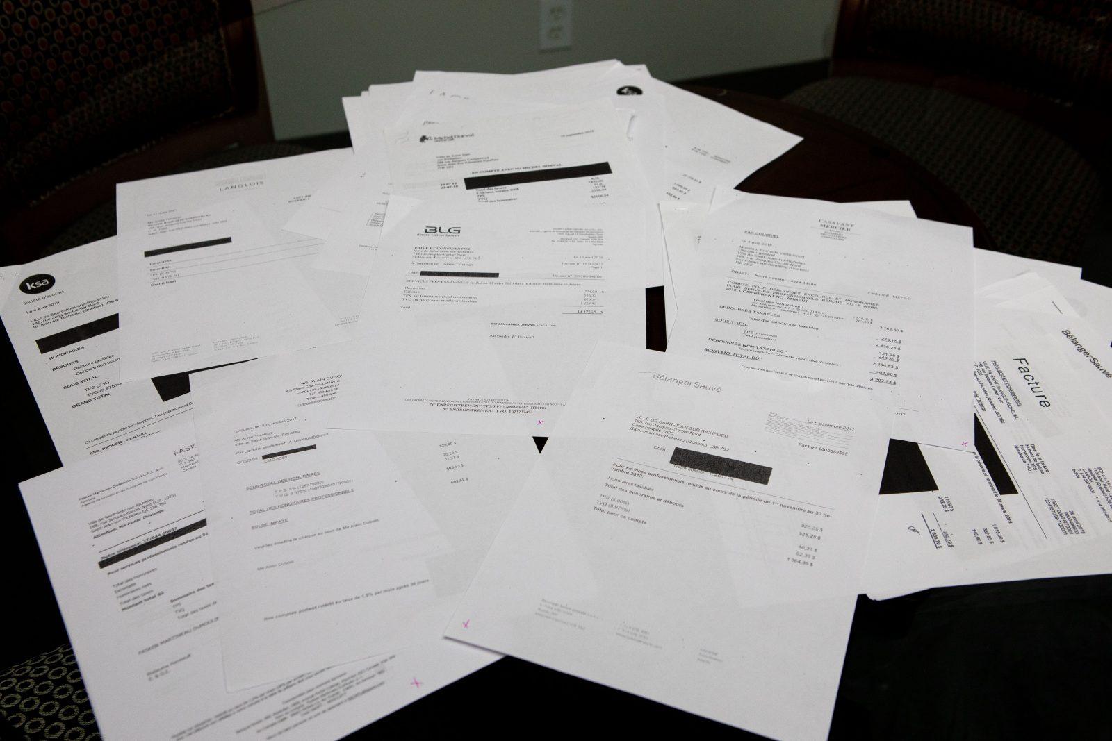 Des frais d'avocats de 1,2 M$ assumés par la Ville