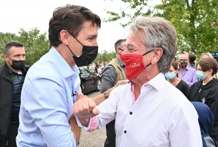 Visite de Justin Trudeau à Mont-Saint-Grégoire