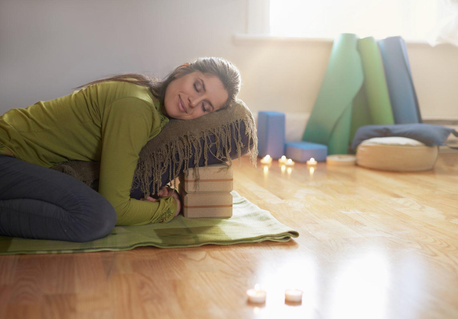 Connaissez-vous le yoga restauratif?