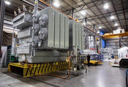 Des transformateurs de puissance conçus à Iberville