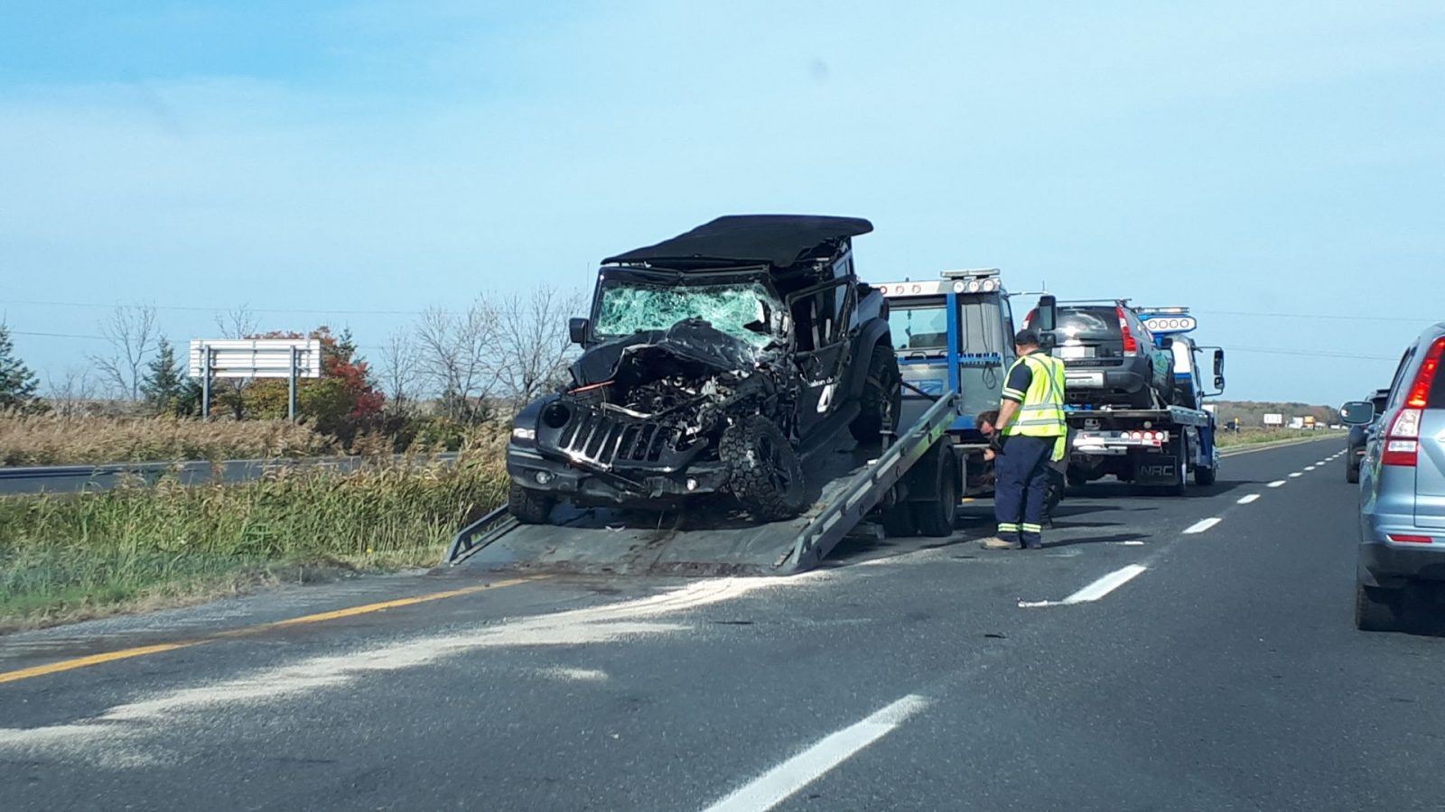 Deux accidents sur l'autoroute 35