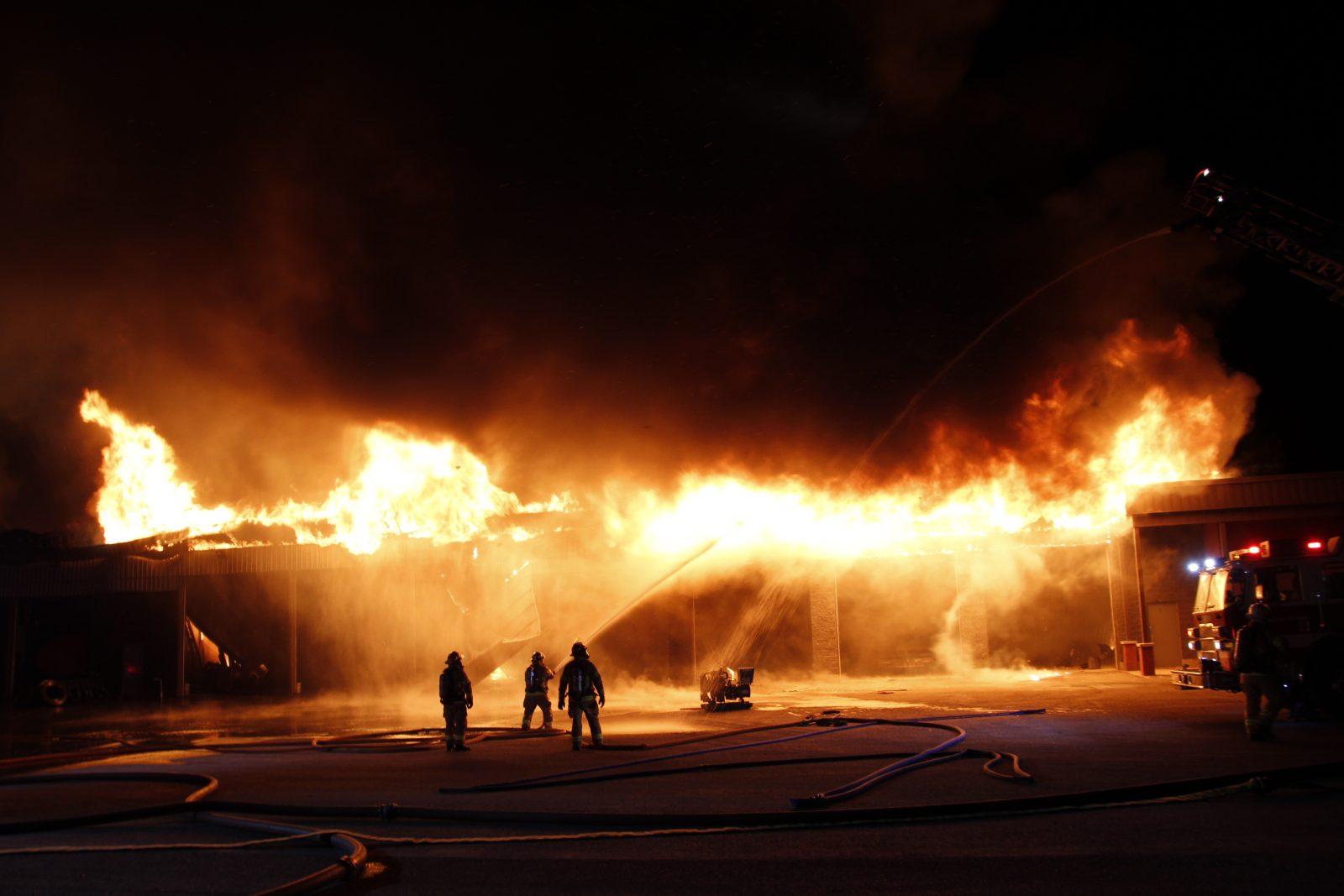 Deux incendies suspects à la même adresse