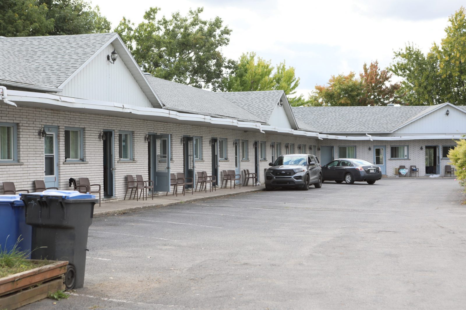 Un homme arrêté au Motel Belle Rivière